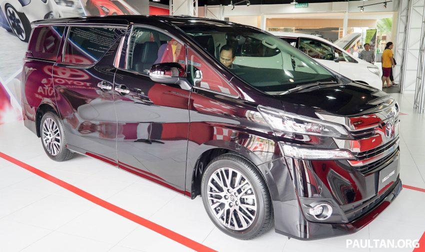 Toyota Alphard dan Vellfire – model spesifikasi Malaysia telah dipamerkan di Mitsui Outlet Park Image #524606