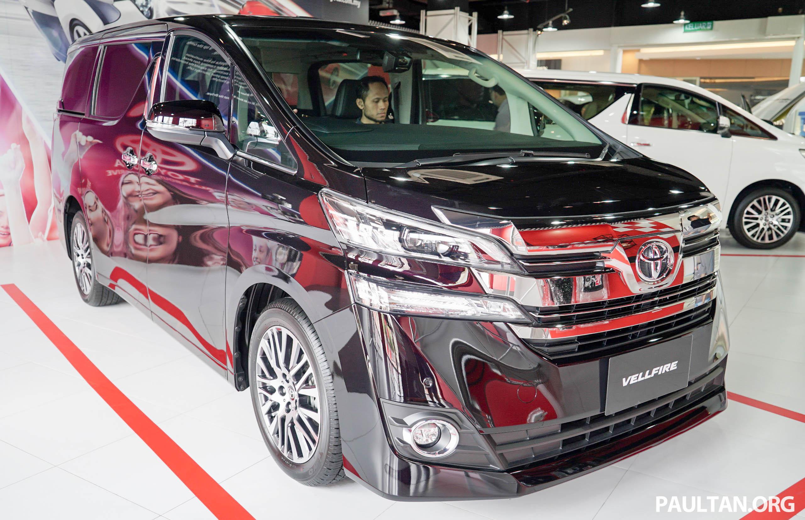 Toyota Alphard dan Vellfire – model spesifikasi Malaysia