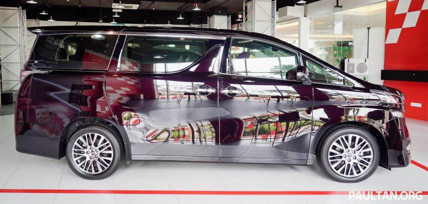Toyota Alphard dan Vellfire – model spesifikasi Malaysia telah dipamerkan di Mitsui Outlet Park Image #524616