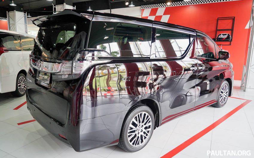 Toyota Alphard dan Vellfire – model spesifikasi Malaysia telah dipamerkan di Mitsui Outlet Park Image #524617