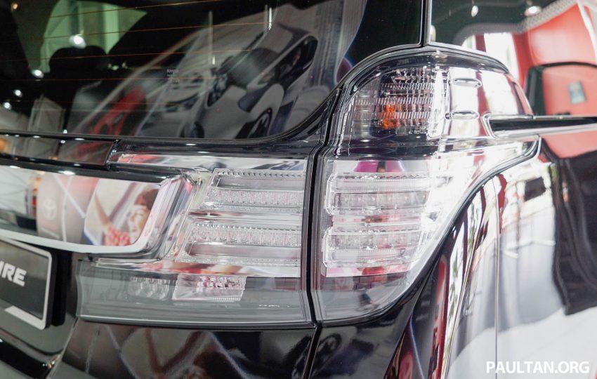Toyota Alphard dan Vellfire – model spesifikasi Malaysia telah dipamerkan di Mitsui Outlet Park Image #524618