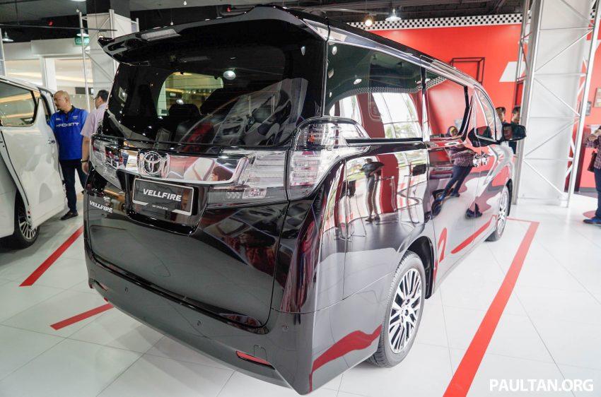 Toyota Alphard dan Vellfire – model spesifikasi Malaysia telah dipamerkan di Mitsui Outlet Park Image #524621
