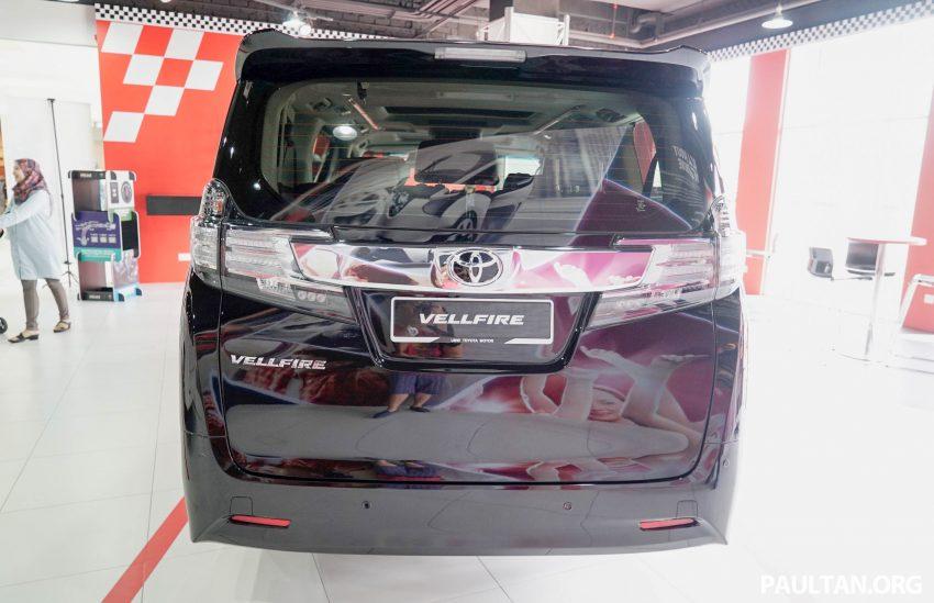Toyota Alphard dan Vellfire – model spesifikasi Malaysia telah dipamerkan di Mitsui Outlet Park Image #524623