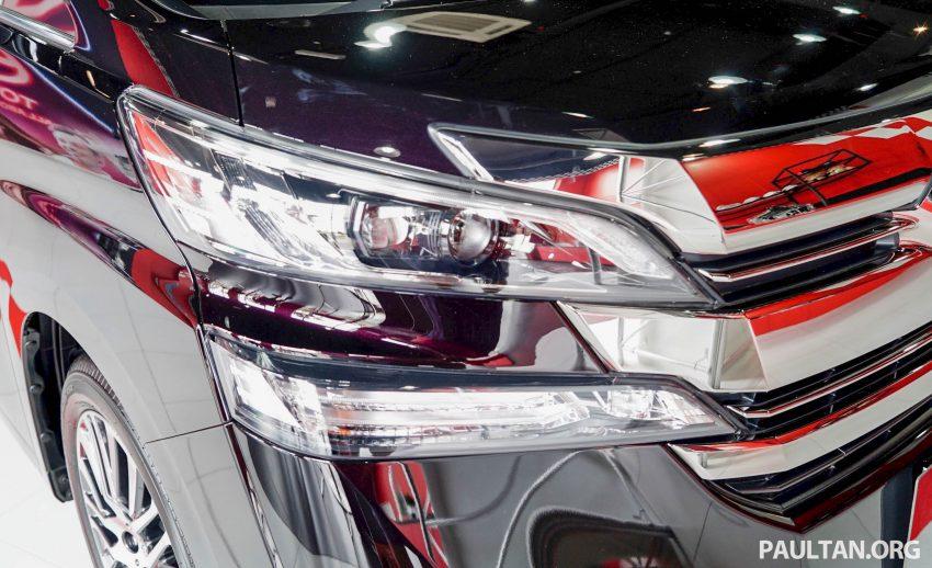 Toyota Alphard dan Vellfire – model spesifikasi Malaysia telah dipamerkan di Mitsui Outlet Park Image #524607
