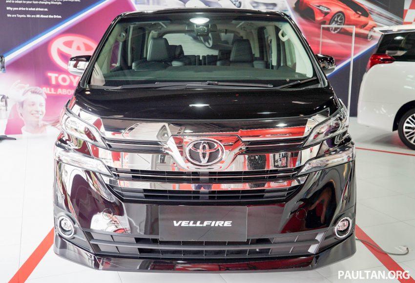 Toyota Alphard dan Vellfire – model spesifikasi Malaysia telah dipamerkan di Mitsui Outlet Park Image #524626