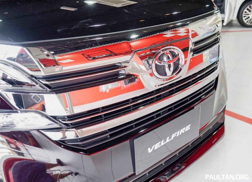 Toyota Alphard dan Vellfire – model spesifikasi Malaysia telah dipamerkan di Mitsui Outlet Park Image #524608