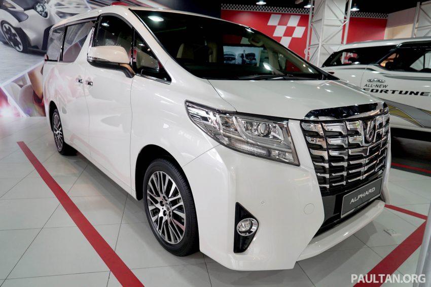 Toyota Alphard dan Vellfire – model spesifikasi Malaysia telah dipamerkan di Mitsui Outlet Park Image #524576