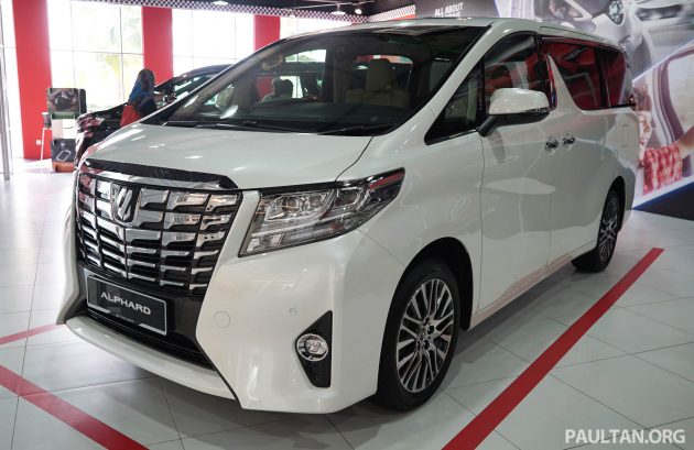 Toyota Alphard and Vellfire - Malaysian spec cars previewed at