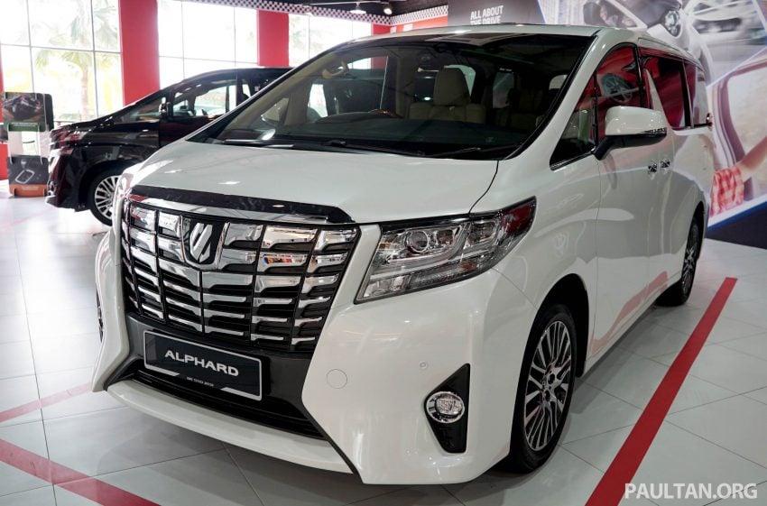 Toyota Alphard dan Vellfire – model spesifikasi Malaysia telah dipamerkan di Mitsui Outlet Park Image #524579
