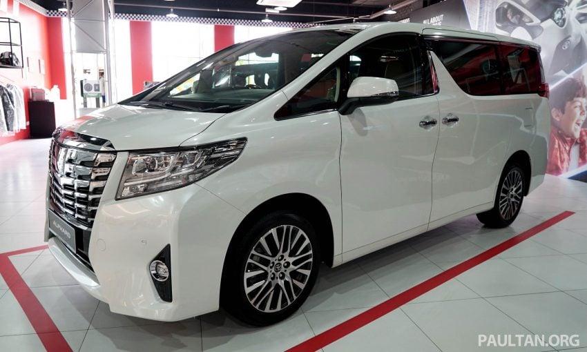 Toyota Alphard dan Vellfire – model spesifikasi Malaysia telah dipamerkan di Mitsui Outlet Park Image #524580