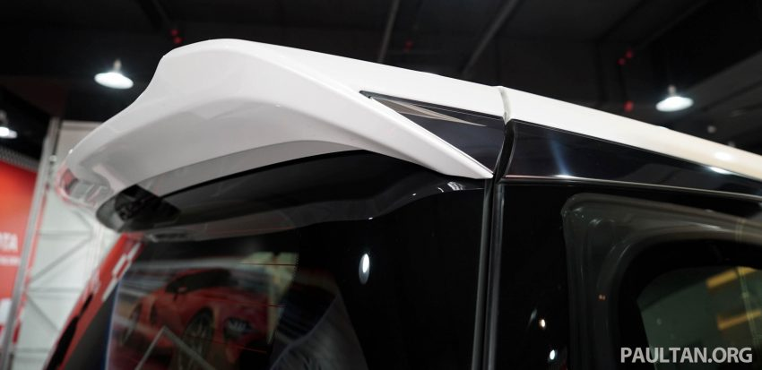 Toyota Alphard dan Vellfire – model spesifikasi Malaysia telah dipamerkan di Mitsui Outlet Park Image #524581