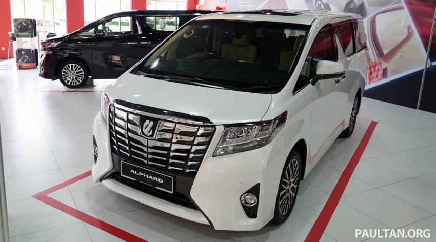 Toyota Alphard dan Vellfire – model spesifikasi Malaysia telah dipamerkan di Mitsui Outlet Park Image #524584