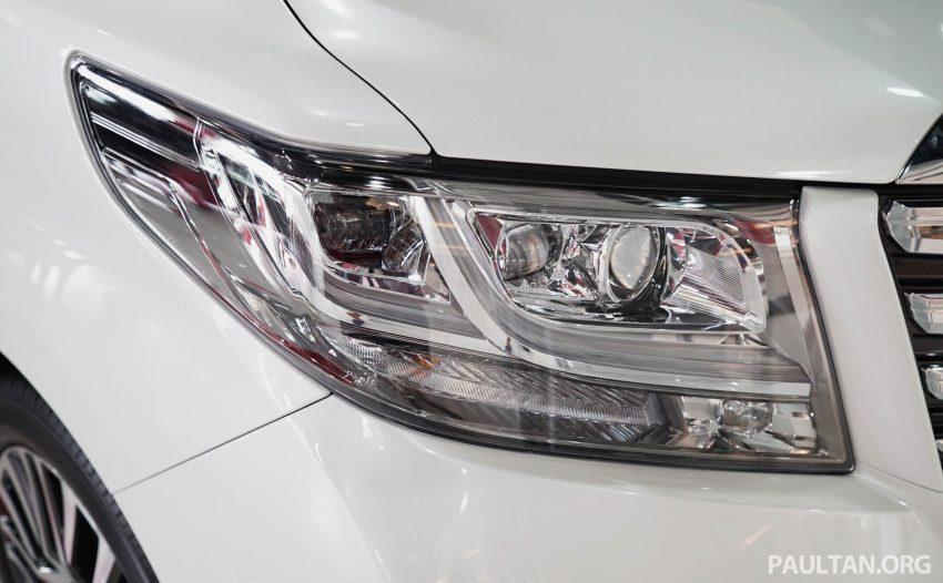 Toyota Alphard dan Vellfire – model spesifikasi Malaysia telah dipamerkan di Mitsui Outlet Park Image #524570