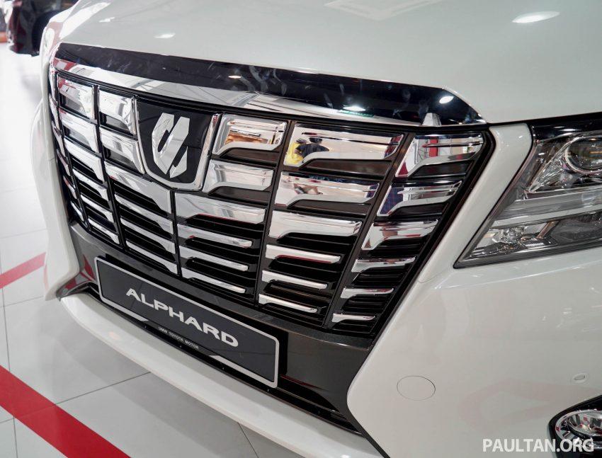 Toyota Alphard dan Vellfire – model spesifikasi Malaysia telah dipamerkan di Mitsui Outlet Park Image #524572
