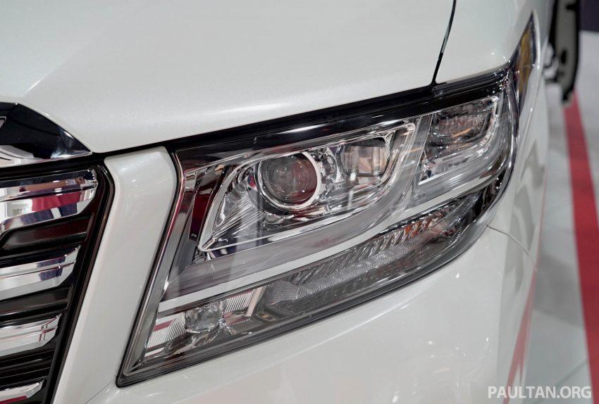Toyota Alphard dan Vellfire – model spesifikasi Malaysia telah dipamerkan di Mitsui Outlet Park Image #524573