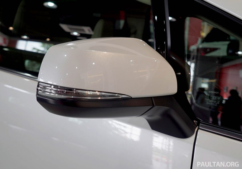 Toyota Alphard dan Vellfire – model spesifikasi Malaysia telah dipamerkan di Mitsui Outlet Park Image #524575