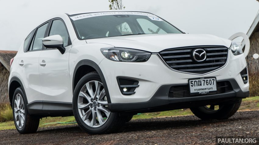 driven mazda cx 5 2 2l skyactiv d diesel in thailand. Black Bedroom Furniture Sets. Home Design Ideas