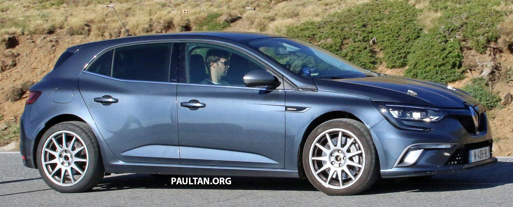 Megane Rs 2018 >> SPIED: Renault Megane RS – AWD, four-wheel steer Paul Tan - Image 520411