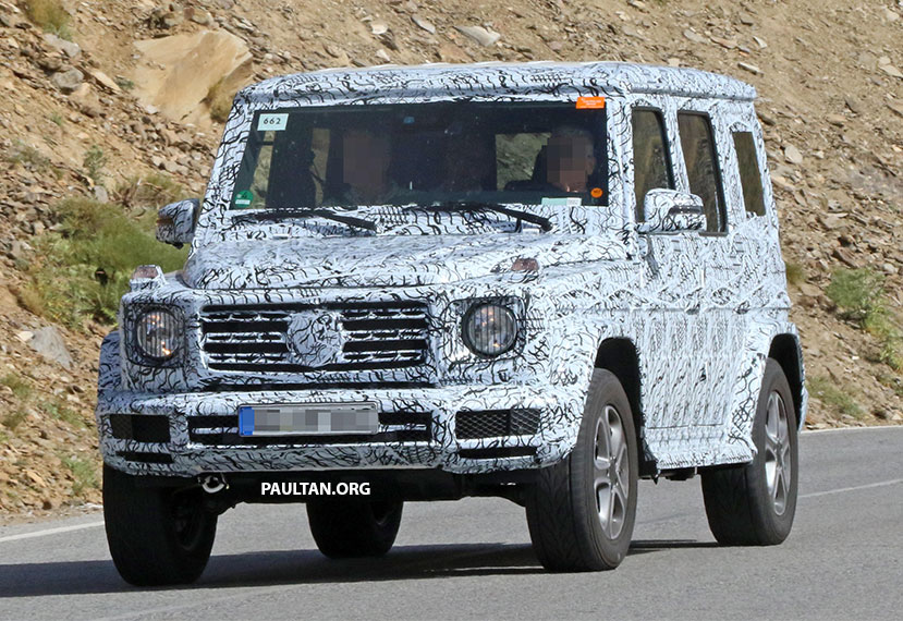 SPIED: Next-generation Mercedes-Benz G-Class – similar looks, but set for 400 kg weight reduction Image #526478
