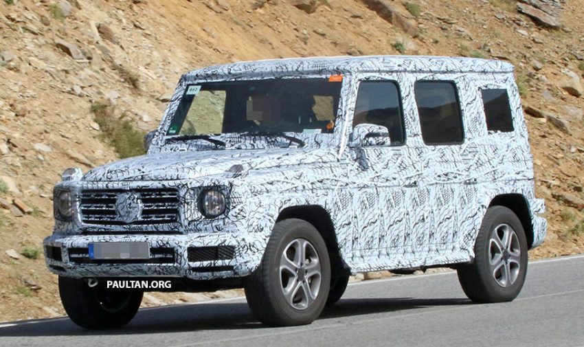 SPIED: Next-generation Mercedes-Benz G-Class – similar looks, but set for 400 kg weight reduction Image #526474