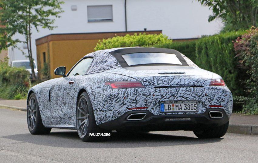 SPYSHOTS: Mercedes-AMG GT roadster spotted Image #526726