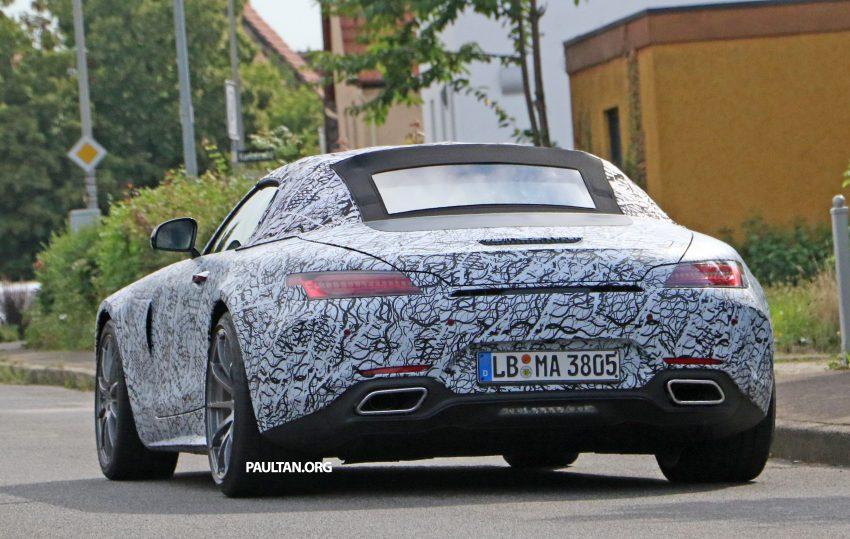 SPYSHOTS: Mercedes-AMG GT roadster spotted Image #526725