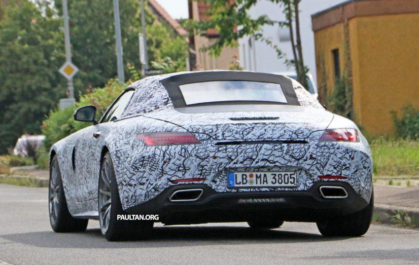 SPYSHOTS: Mercedes-AMG GT roadster spotted Image #526724