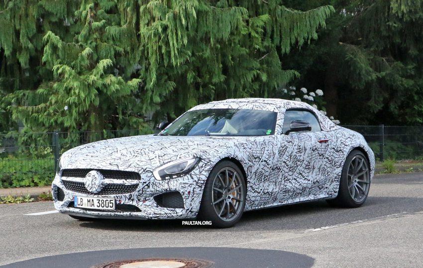 SPYSHOTS: Mercedes-AMG GT roadster spotted Image #526733