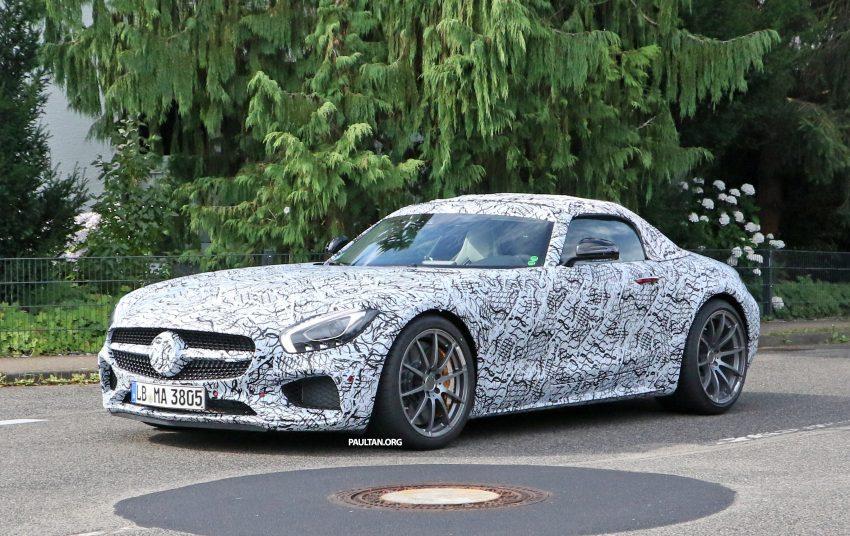 SPYSHOTS: Mercedes-AMG GT roadster spotted Image #526732
