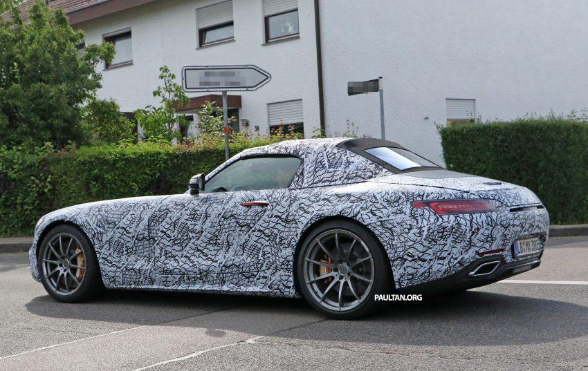SPYSHOTS: Mercedes-AMG GT roadster spotted Image #526729