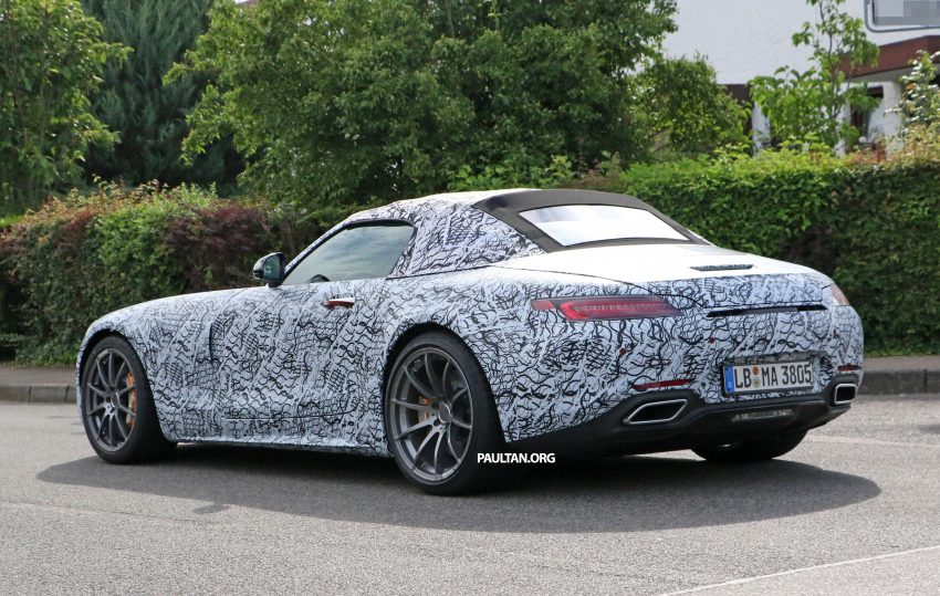 SPYSHOTS: Mercedes-AMG GT roadster spotted Image #526728