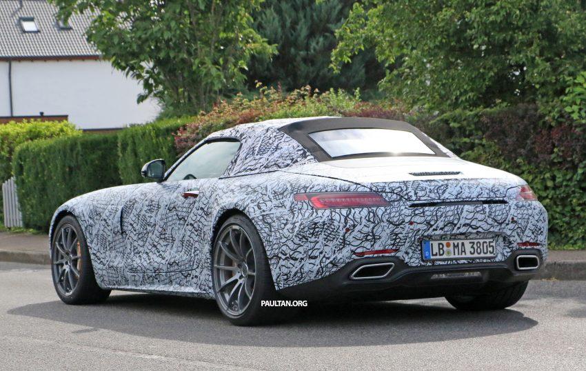 SPYSHOTS: Mercedes-AMG GT roadster spotted Image #526727