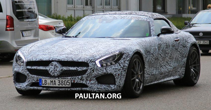 SPYSHOTS: Mercedes-AMG GT roadster spotted Image #526042