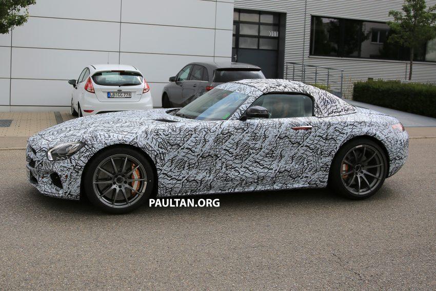 SPYSHOTS: Mercedes-AMG GT roadster spotted Image #526044