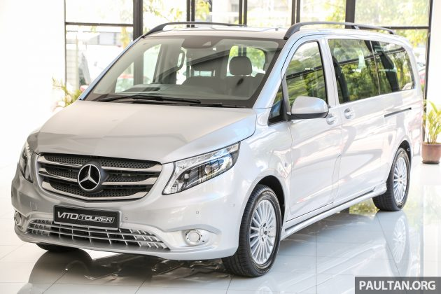 Mercedes-Benz Vito Tourer now in Malaysia – RM287k