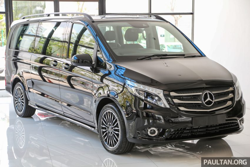 mercedes benz vito tourer now in malaysia rm287k image. Black Bedroom Furniture Sets. Home Design Ideas