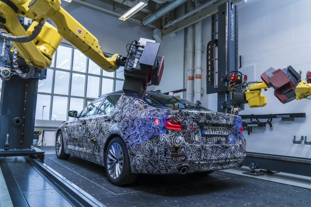 Next-gen BMW 5 Series optical measuring cell 1