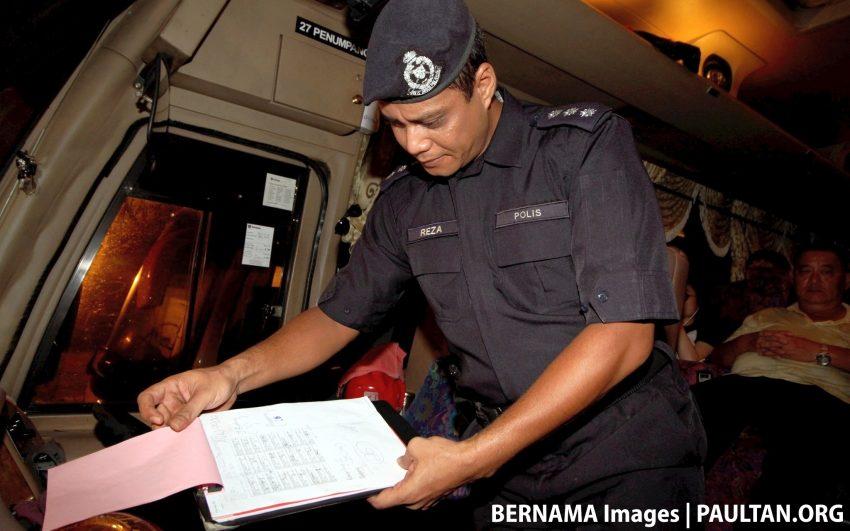 Op Selamat: 35 pemandu kenderaan berat disaman, dua positif kanabis dalam operasi di Bukit Gantang Image #518464