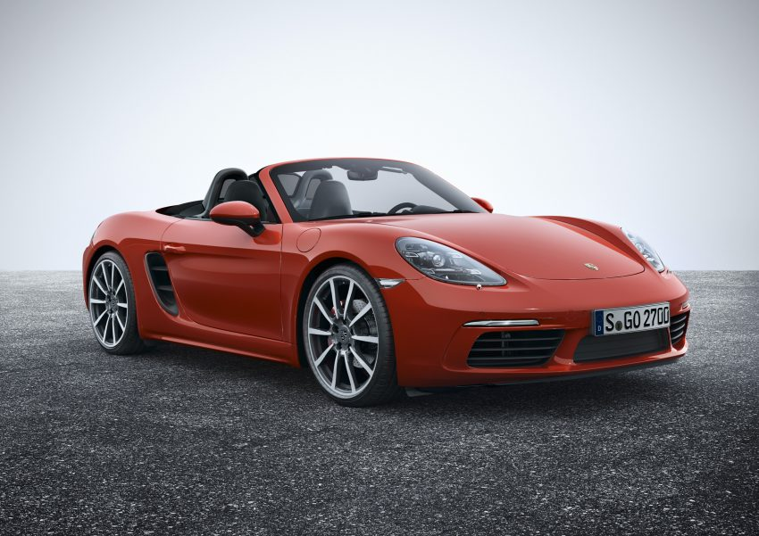 Porsche 718 Boxster previewed in Malaysia at Sepang Image #518999