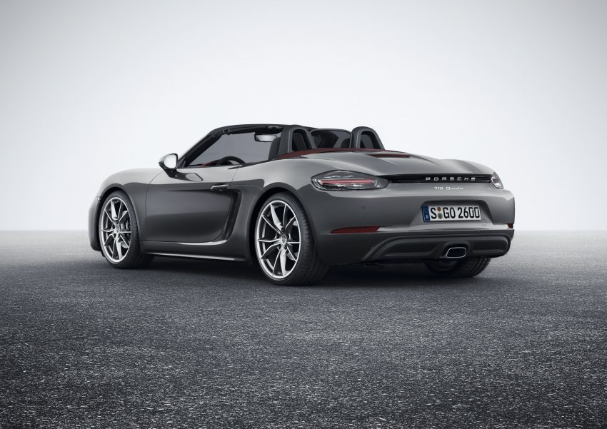 Porsche 718 Boxster previewed in Malaysia at Sepang Image #519000