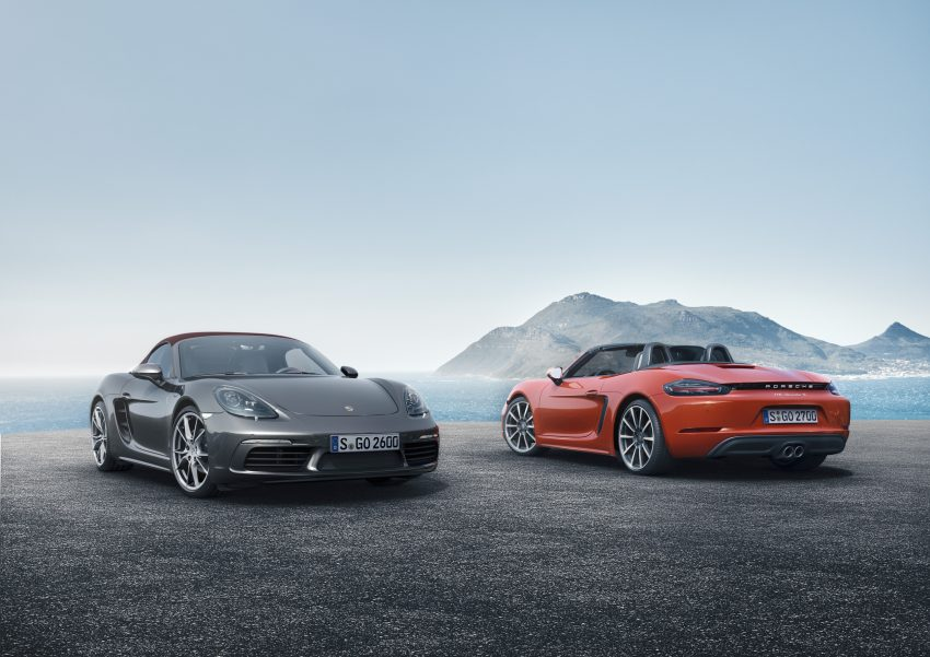 Porsche 718 Boxster previewed in Malaysia at Sepang Image #519002
