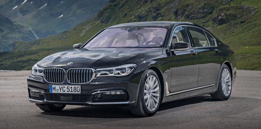 GALLERY: BMW 740e iPerformance plug-in hybrid Image #519225