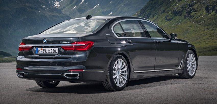 GALLERY: BMW 740e iPerformance plug-in hybrid Image #519234