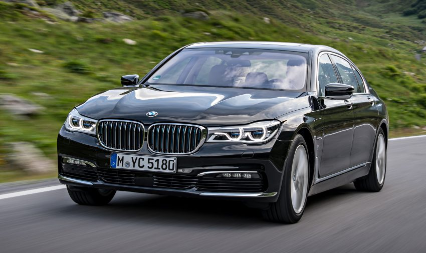 GALLERY: BMW 740e iPerformance plug-in hybrid Image #519246