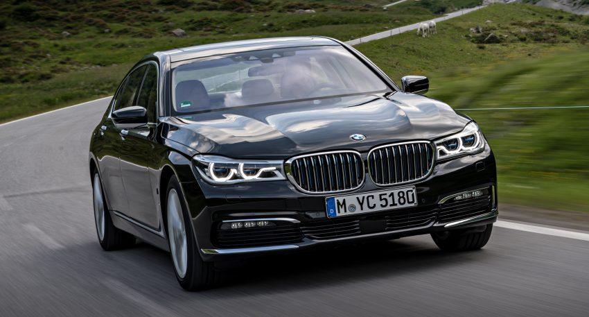 GALLERY: BMW 740e iPerformance plug-in hybrid Image #519259