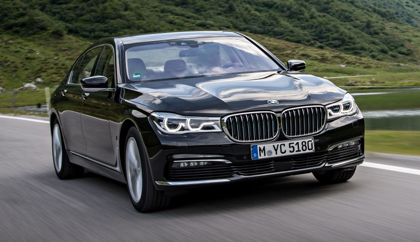 GALLERY: BMW 740e iPerformance plug-in hybrid Image #519257