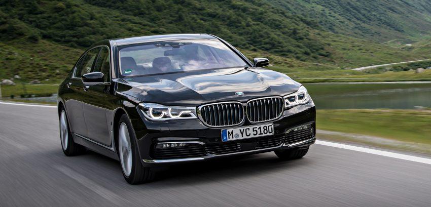 GALLERY: BMW 740e iPerformance plug-in hybrid Image #519256