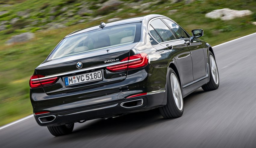 GALLERY: BMW 740e iPerformance plug-in hybrid Image #519264