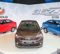 Perodua Bezza Launch Stage