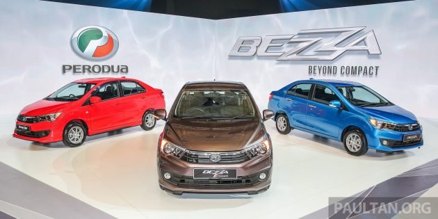 Perodua Bezza Launch Stage